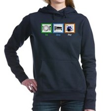 Eat Sleep Drums Women's Hooded Sweatshirt