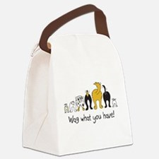 Wag What You Have Canvas Lunch Bag