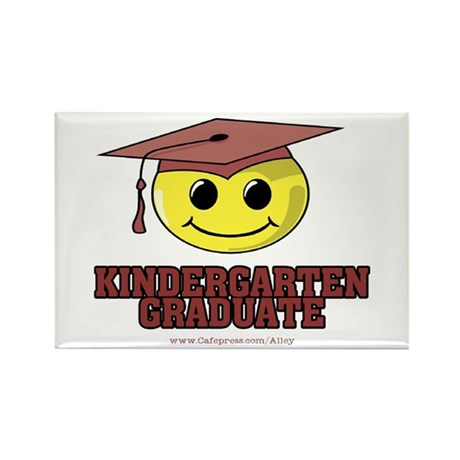 Kindergarten Graduate Rectangle Magnet (10 pack)