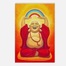 Big Happy Buddha Postcards (Package of 8)