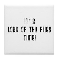 It's Lord Of The Flies Time! Tile Coaster