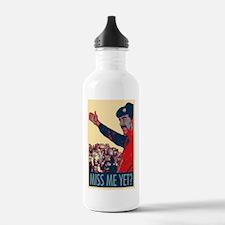 Saddam Miss Me Yet? Water Bottle
