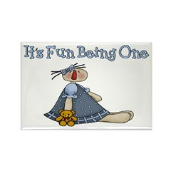 First Birthday Rectangle Magnet (10 pack)