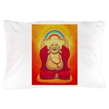 Big Happy Buddha Pillow Case