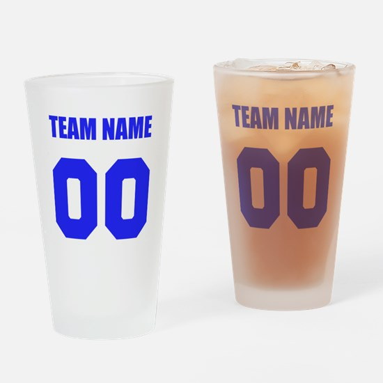 Team Drinking Glass