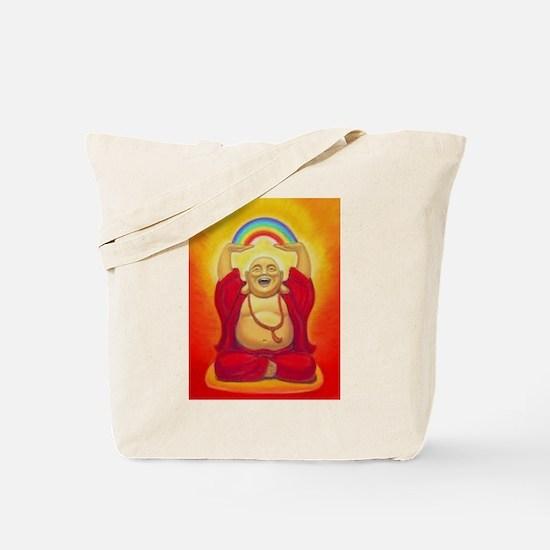 Big Happy Buddha Tote Bag