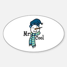 Mr Cool Decal