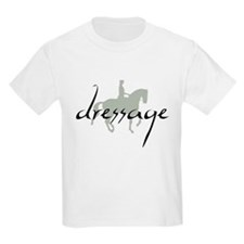 Dressage Silhouette Text T-Shirt