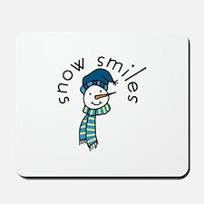 Snow Smiles Mousepad
