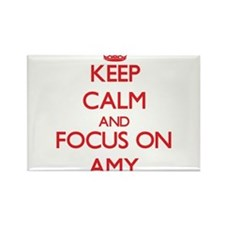 Keep Calm and focus on Amy Magnets