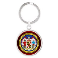 Maryland Seal.png Keychains