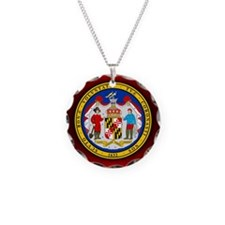 Maryland Seal.png Necklace