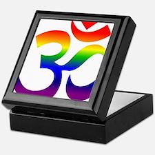 big rainbow om Keepsake Box