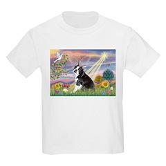 Cloud Angel & Boston T Kids Light T-Shirt