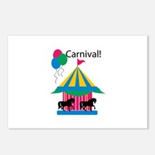 Carnival! Postcards (Package of 8)
