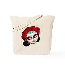 El Dia de Los Muertos Girl Tote Bag