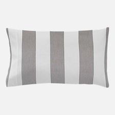Manly Gray stripes Pillow Case