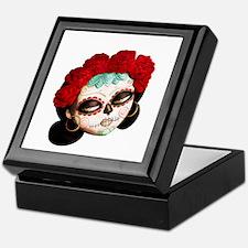 El Dia de Los Muertos Girl Keepsake Box