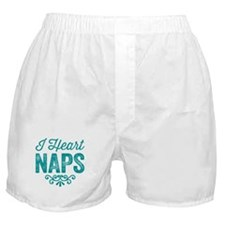 I Heart Naps Boxer Shorts