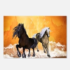 Fantastic horses Postcards (Package of 8)