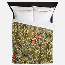 William Morris Golden Lily Queen Duvet