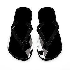 Tuxedo Art Flip Flops