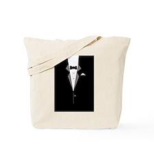 Tuxedo Art Tote Bag