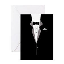 Tuxedo Art Greeting Cards