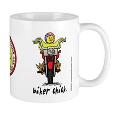 Biker Chick Coffee Coffee Mug