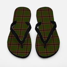 Murphy Tartan plaid Flip Flops