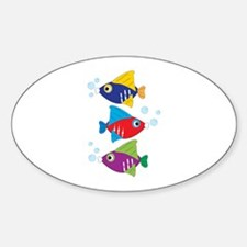 Colorful Fish Decal