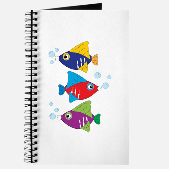 Colorful Fish Journal