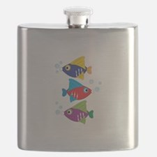Colorful Fish Flask