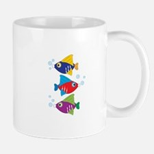 Colorful Fish Mugs