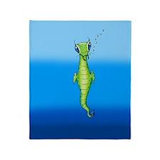 Sea Creature Throw Blanket