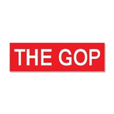 stop the gop Car Magnet 10 x 3