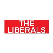 stop the liberals Car Magnet 10 x 3