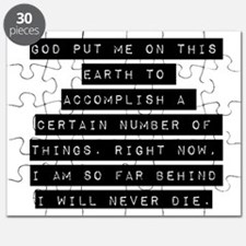 God Put Me On This Earth Puzzle