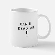 Can U Read Me - Krav Maga Mugs