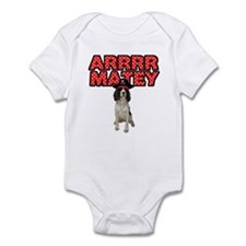 Pirate Springer Spaniel Infant Bodysuit