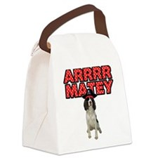 Pirate Springer Spaniel Canvas Lunch Bag