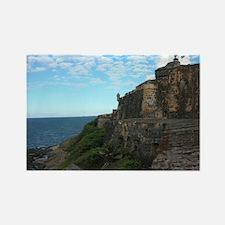 San Felipe del Morro Fort Rectangle Magnet