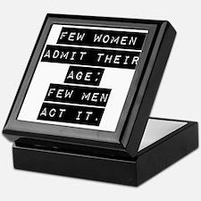 Few Women Admit Their Age Keepsake Box