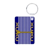 Customize cross country runners Keychains