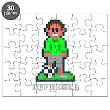 Bit Soccer Green Puzzle