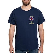 Saltire Golf Scotland Green Tartan T-Shirt