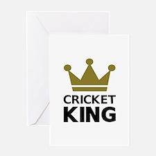Cricket king Greeting Card
