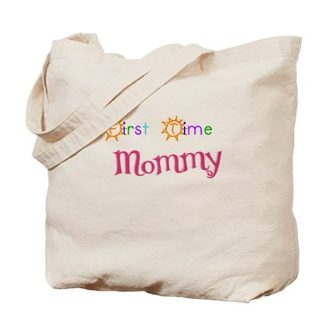 First Time Mommy Tote Bag