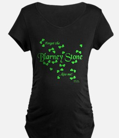 Forget the Blarney Stone, Kiss Me Maternity T