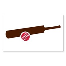Cricket bat ball Stickers